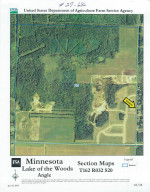 County Rd NW 42nd Ave. Avenue NW, Baudette, MN 56623