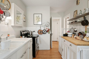 This kitchen also has stainless steel appliances. 1484 Summit Avenue, St. Paul, MN.