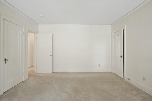 Each bedroom is spacious and features closets. 1484 Summit Avenue, St. Paul, MN.