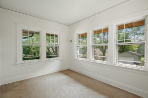 Beautiful views of the neighborhood and, of course, tons of natural light. 1484 Summit Avenue, St. Paul, MN.