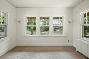 Both units feature sunrooms in addition to the three bedrooms. 1484 Summit Avenue, St. Paul, MN.