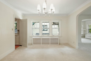Windows throughout to open up the space. 1484 Summit Avenue, St. Paul, MN.
