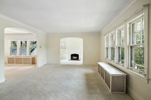 Tons of natural light throughout this home. 1484 Summit Avenue, St. Paul, MN.