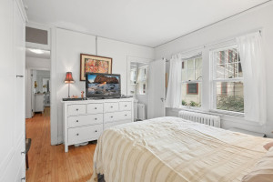 This bedroom has tons of room for furniture and storage. 1484 Summit Avenue, St. Paul, MN.