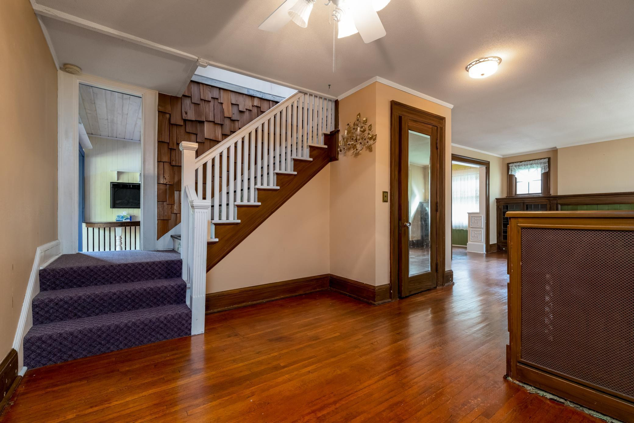 Living Room/Open Stair Case to Upper Level
