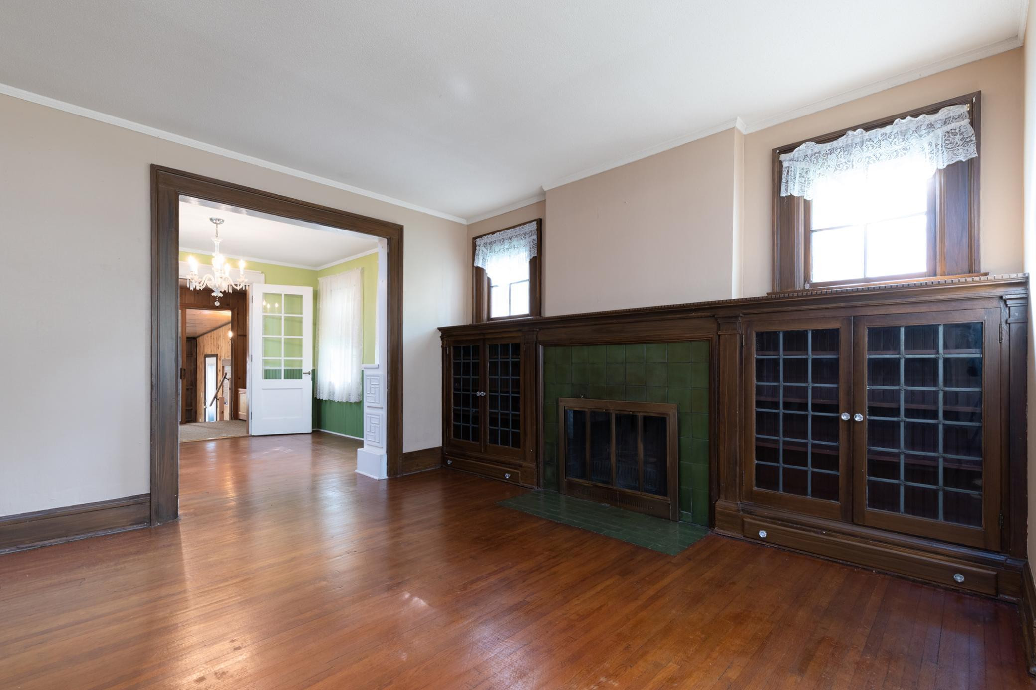 Living Room (Fireplace has not been used for years)