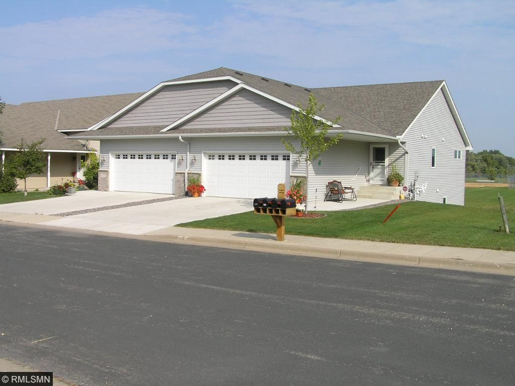 Picture of like home already built in the development.