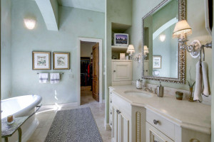 another view of her side of the bath room