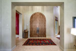 stunning custom made alderwood front door