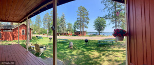 Each Cabin offers a great view of the lake