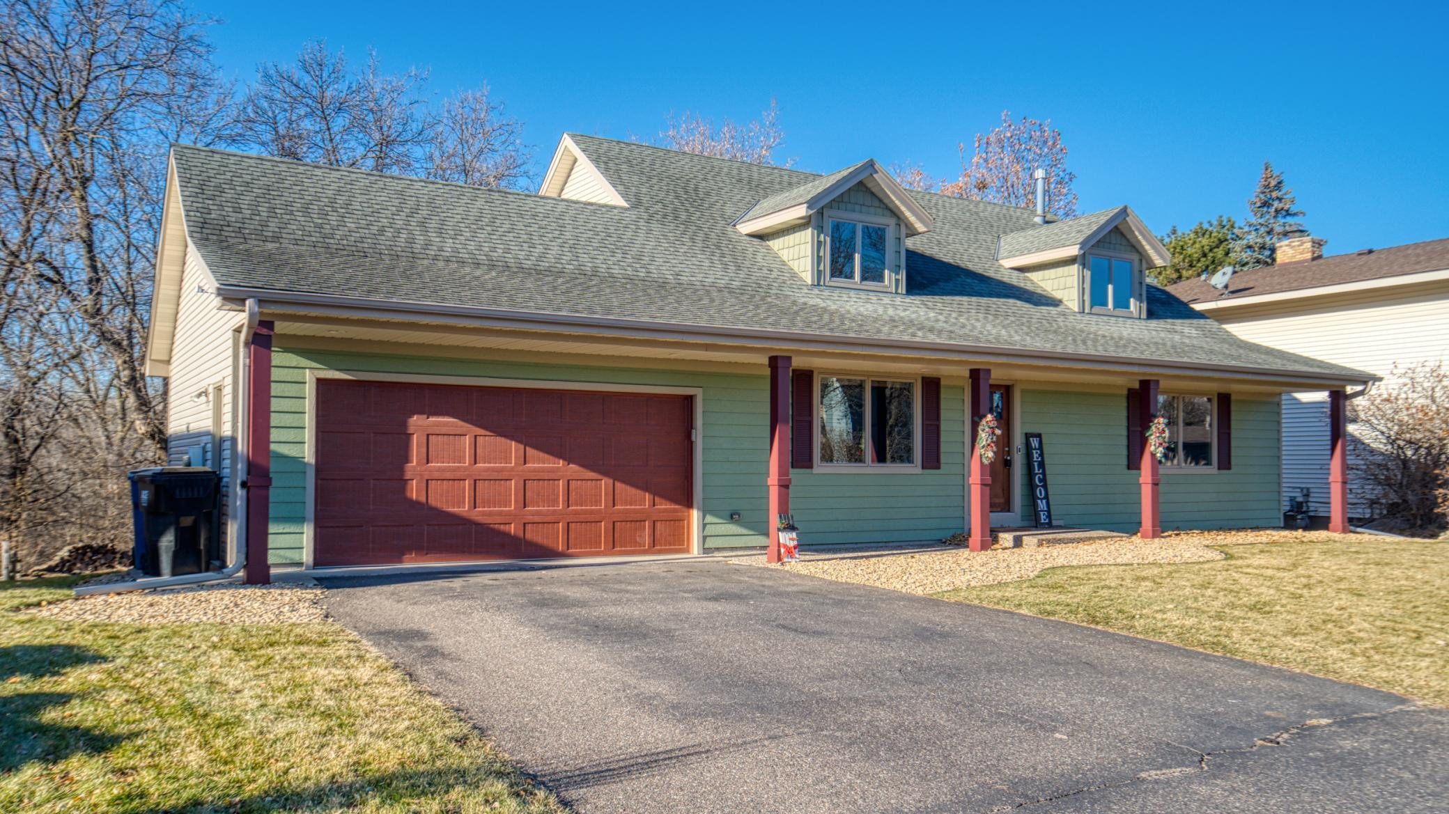 Exceptional 4+ bedroom home with wooded lot that backs up to Rice Creek & Creekview Park in a neighborhood with an association maintained in-ground pool, basketball court, and outdoor recreational area with a gazebo.