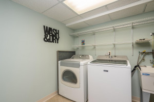 Lower level Laundry Room. Light, Bright & VERY clean!