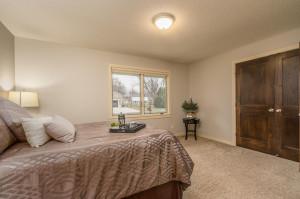 Elegant Main Floor Master Suite has a Private Master Bath & Walk-in Closet