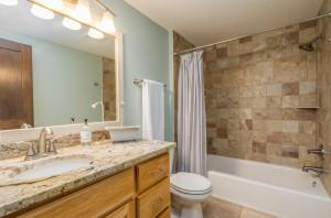 Upper Level Full Bath, beautiful granite & ceramic tile
