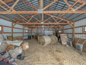 Pole Barn, great for storing hay, toys, etc.