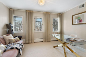 Fourth bedroom provides a great opportunity for a home office with a view.