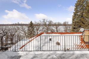 Huge roof top deck overlooking Lake Harriet for amazing entertaining.