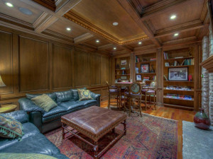 Spectacular lower level den and game room