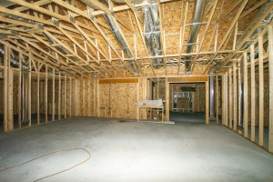 Looking at living room, dining and sunroom.