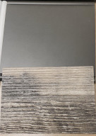 Laundry Room Colors for the home under construction: Gray cabinets and laminate counter top.