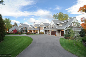 Exquisitely Designed Front Entry and Sweeping Circular Drive