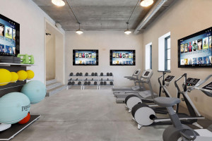 Who needs a gym membership? Workout in the comfort of your own home gym.