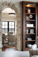 The stone archways within this home are absolutely stunning. Every stone is solid limestone.