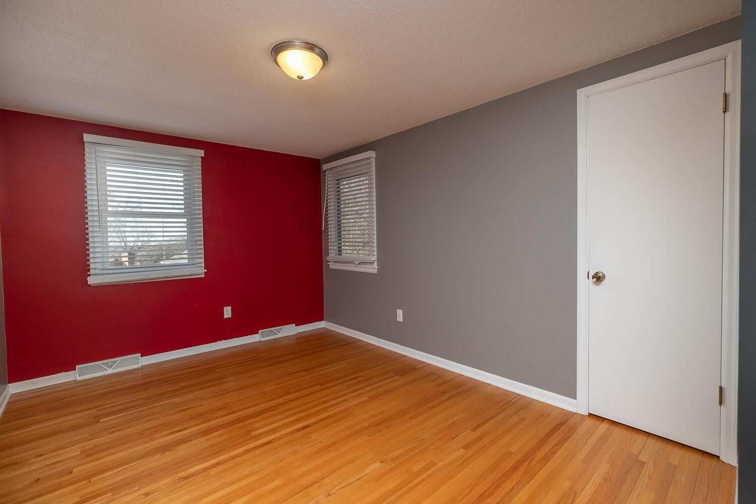Upper Level 3rd BR with real oak flooring