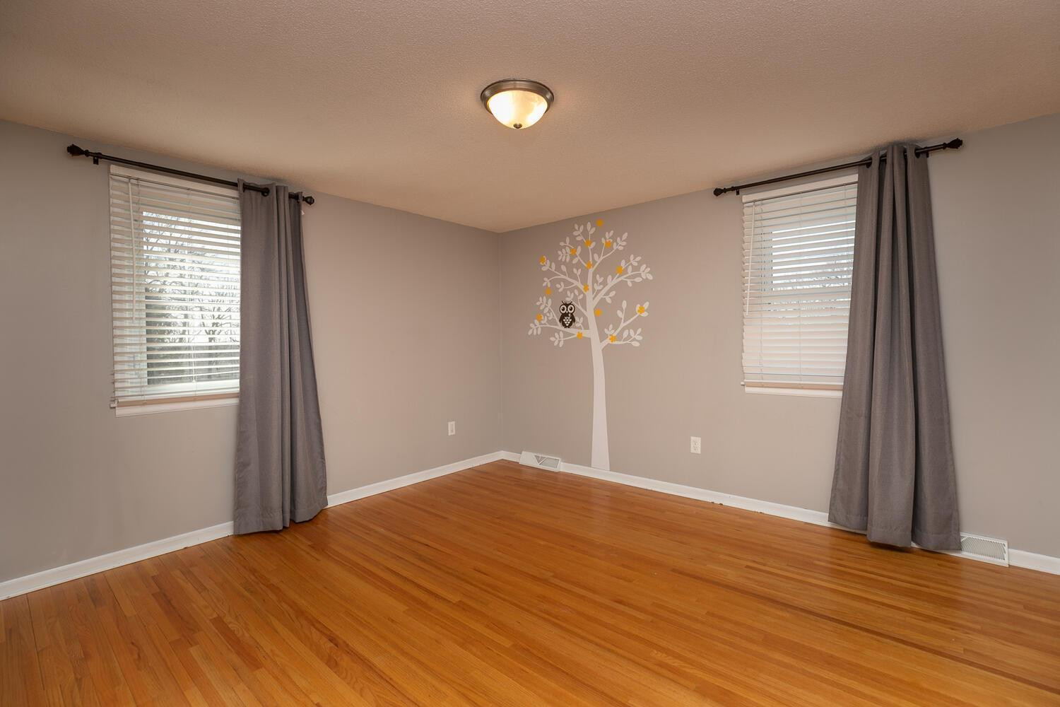 Upper Level 2nd BR with real oak flooring