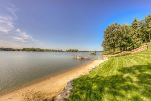 192 ft of Lake Minnetonka shoreline. The bay is approved for sea planes.
