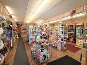 Very well kept retail store with fixtures and growing clientele.