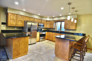 roomy kitchen with plenty of counter space