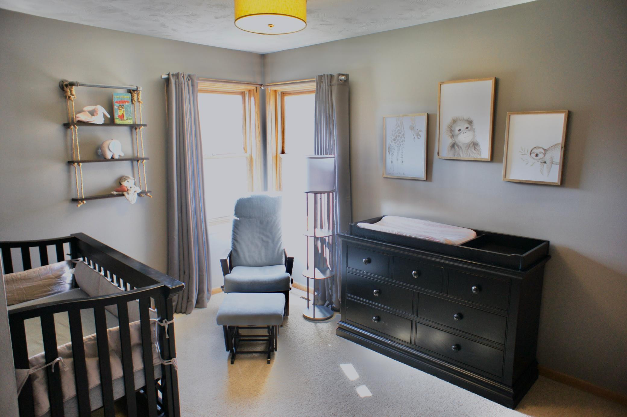 This 2nd upstairs bedroom makes a wonderful nursery.