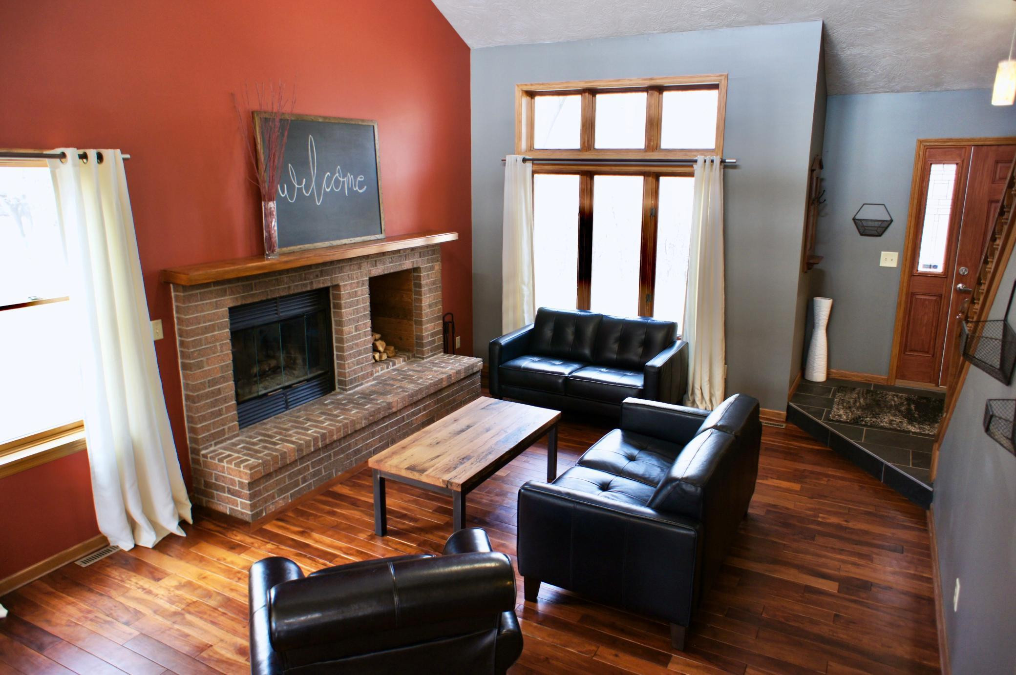 Enjoy the warmth this fireplace will provide when you are just wanting the heat and glow of an inviting fire.