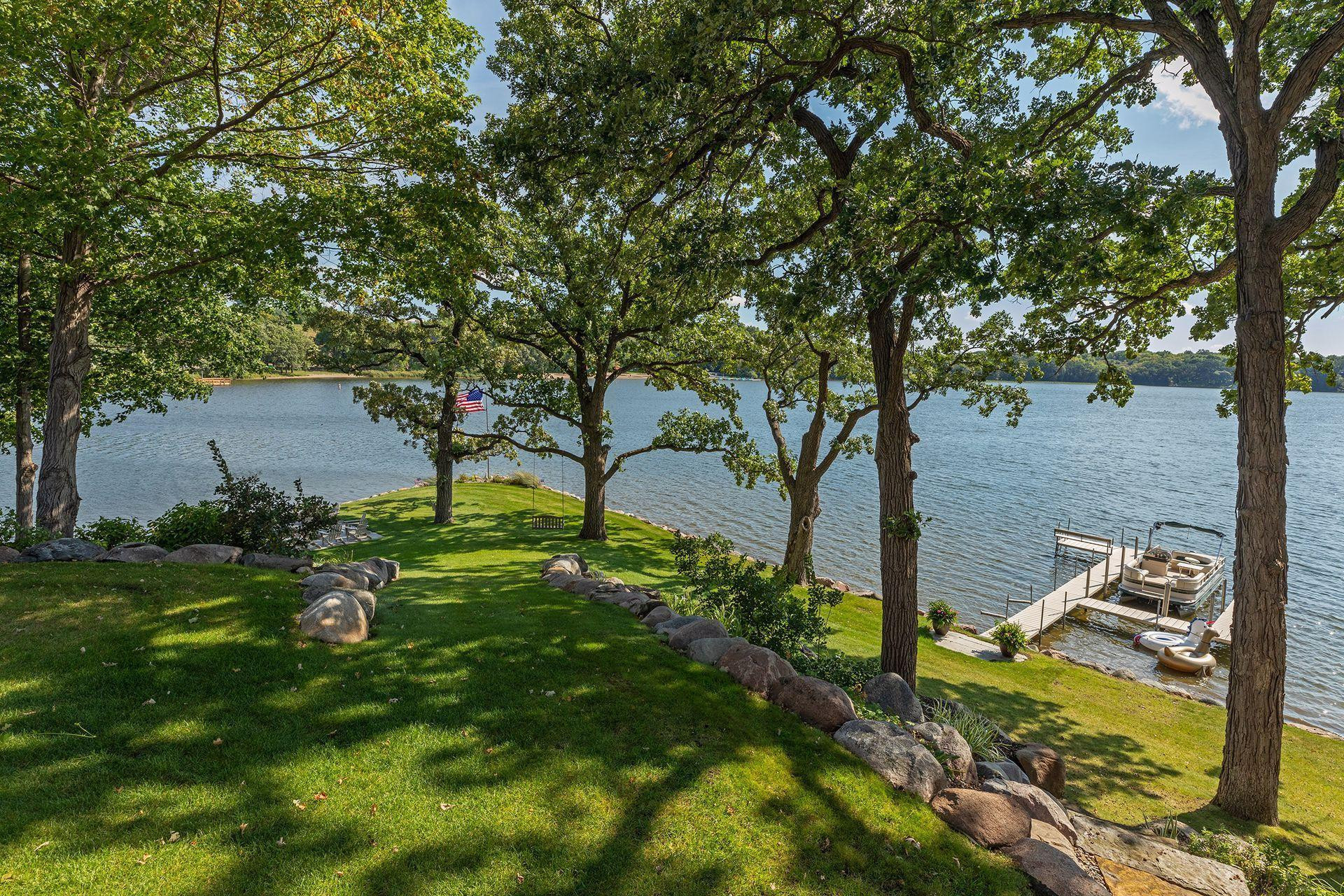 Welcome to your private compound on Bryant Lake! Lakeside view with included dock. Enjoy the lake for its tranquility or take out the boat fishing or skiing.