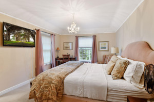 One of Four Upper Level Bedrooms with Ensuite Bath