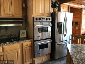 Kitchen Area with Stainless Steal Appliances