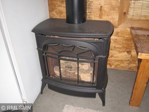 Garage has add'l gas fireplace for warmth