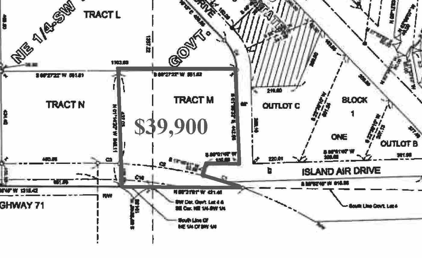 Tract M Island Michelle Lee Trail, Park Rapids, MN 56470
