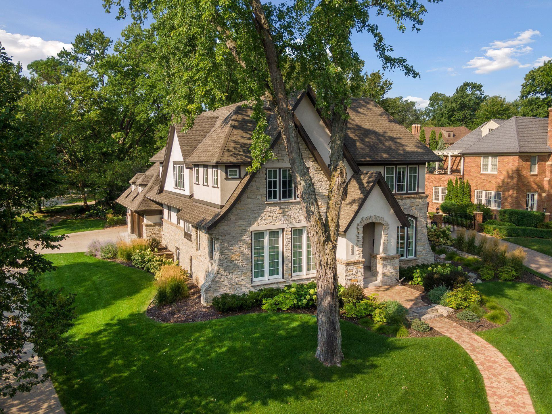 Located on the premier street of Moorland across from Wooddale Park and Edina Country Club