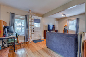 Front entrance - hardwood floors and original charm throughout all main level living areas!