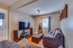 Hardwood floors and original charm throughout all main level living areas!