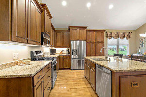 Cooks and entertainers will love this kitchen!