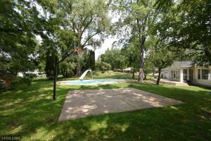 Large backyard to enjoy a family gathering or entertaining.