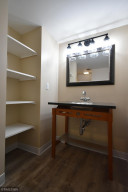 Newly updated 3/4 bath in the lower level.