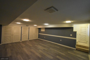 There is an abundance of storage closets and storage rooms throughout the lower level.