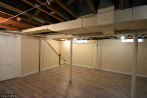 Extra space for a game room or hobby area.