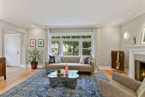 Sun soaked living spaces with updated windows.