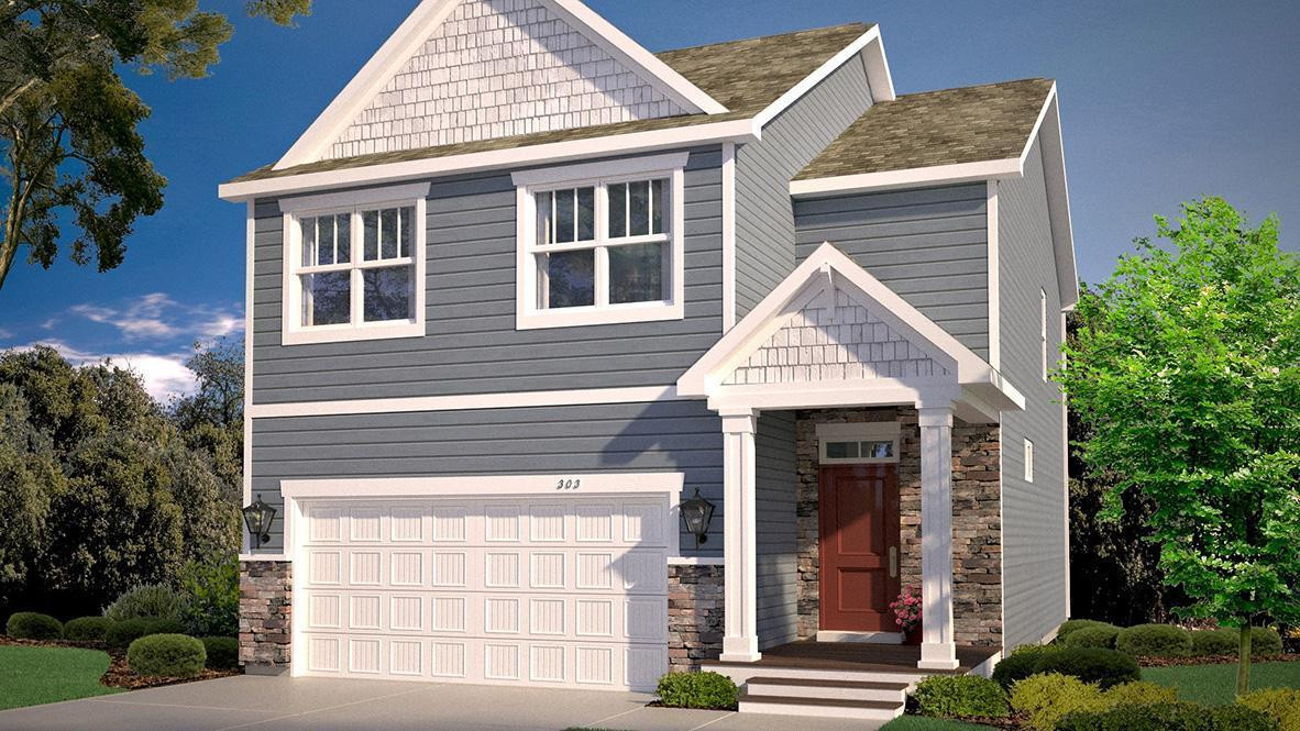 Introducing The Pine from DR Horton!! Cozy and contemporary from the curb, the home is loaded inside with 4 beds, 3 baths and a 2 car garage all resting on an oversized, private homesite!!