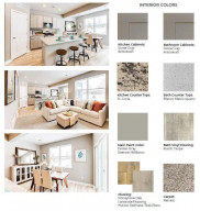 Carefully compiled by DR Horton's team of professional interior designers, these are the finishes we'll be installing in the home!